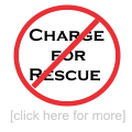 no charge for rescue